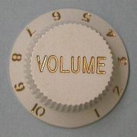 Ibanez Guitar Volume Control Knob 4KB1CF1W