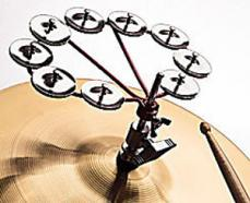 Latin Percussion Cyclops Jingle Rings