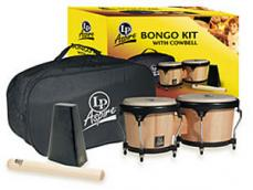 Latin Percussion Aspire Bongo Gift Kit LP500