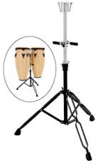 Latin Percussion Aspire Slide Mount Double Conga Stand LPA653