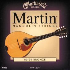 Martin 80/20 Bronze Light Mandolin Strings M400