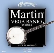 Martin Nickel Wound Vega Banjo Strings V730