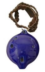 Mid-East Bass D Ocarina Necklace ONLD