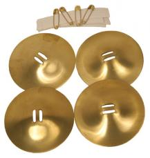 Mid-East Finger Cymbals Flare Belly Dance Zills ZFLN