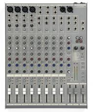 Samson MDR1248 12 Channel, 4 Mic/Line Mixer with DSP