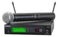 Shure SLX Wireless SM58 Handheld Microphone System SLX24/SM58-J3