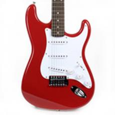 Squier Bullet Strat Electric Guitar By Fender Red Finish
