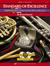 STANDARD OF EXCELLENC ENHANCED Drums & Mallet Book 1 (Book)