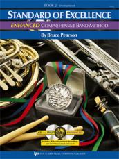 STANDARD OF EXCELLENC ENHANCED Drums & Mallet Book 2 (Book)