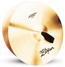 "18"" A Zildjian Band & Orchestral Series Symphonic French Tone Cymbals A0427"