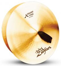 "16"" A Zildjian Band & Orchestral Series Concert Stage Cymbals A0444"