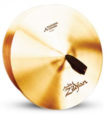 "18"" A Zildjian Band & Orchestral Series Symphonic Viennese Tone Cymbals A0447"