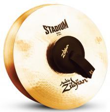 """14"""" A Zildjian Band & Ochestral Series Stadium Medium Cymbals A0452"""