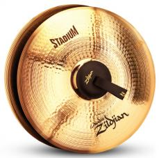 "19"" A Zildjian Band & Orchestral Series Stadium Medium Heavy Cymbals A0473"