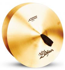 "18"" A Zildjian Band & Orchestral Series Symphonic German Tone Cymbals A0490"
