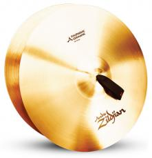 "20"" A Zildjian Band & Orchestral Series Symphonic German Tone Cymbals A0492"