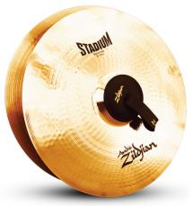 "20"" A Zildjian Band & Orchestral Series Stadium Medium Heavy Cymbals A0497"