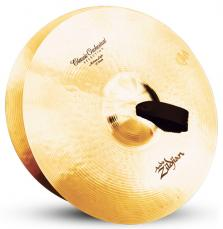 "16"" A Zildjian Band & Orchestral Series Classic Orchestral Selection Medium Light Cymbals A0751"