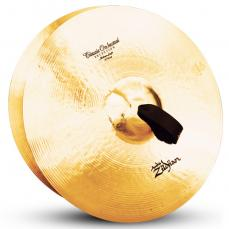 "18"" A Zildjian Band & Orchestral Series Classic Orchestral Selection Medium Light Cymbals A0759"