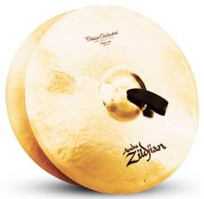 "20"" A Zildjian Band & Orchestral Series Classic Orchestral Selection Medium Light Cymbals A0767"