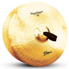 "19"" A Zildjian Band & Orchestral Series Classic Orchestral Selection Medium Cymbals A0783"
