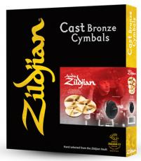A Zildjian Series 4 Pack Matched Cymbal Box Set A0912