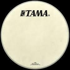 Tama SC White Fiber Laminated Logo Head FB18BMFS