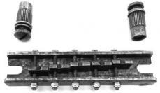 IBANEZ Bass Bridge Artcore Custom - Antique Chrome (2BB12CA003)