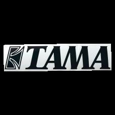 Tama Logo Drum Head Decal Black TLS120BK